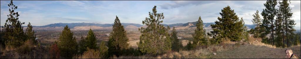 Marge Hulburt on Blue Mountain, Montana