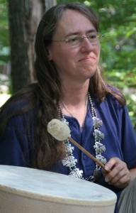 Marge Hulburt shamanic drumming
