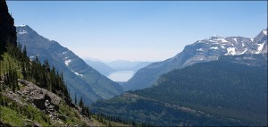View of Lake McDonald from Going-to-the-Sun Road